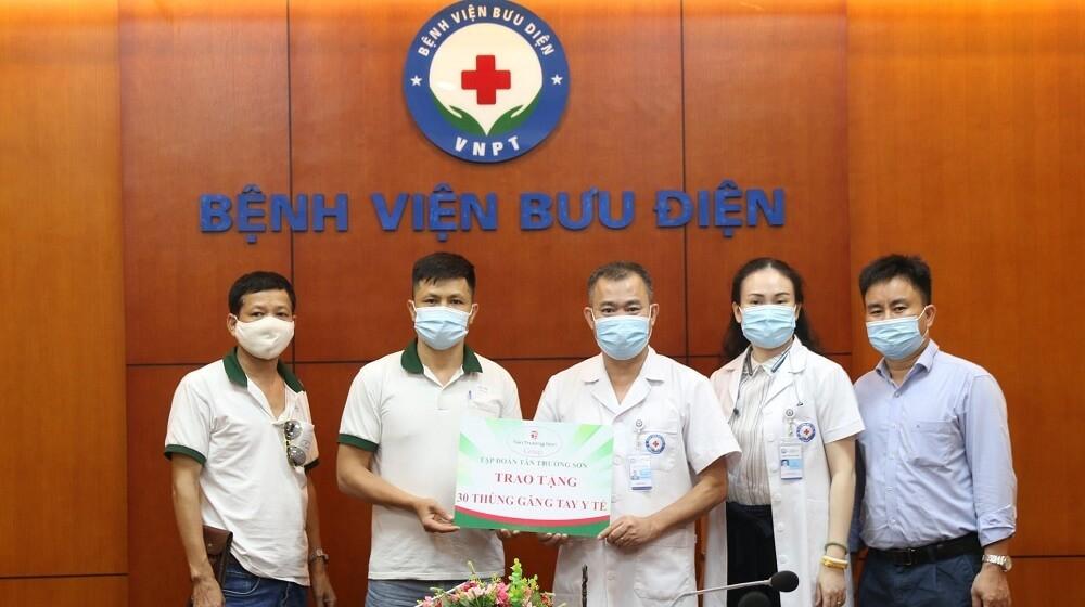 Tân Trường Sơn Group chung tay cùng bệnh viện Bưu Điện đẩy lùi Covid-19