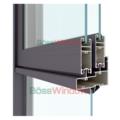 Cửa sổ 4 cánh mở trượt + vách - Hệ Xingfa - X93