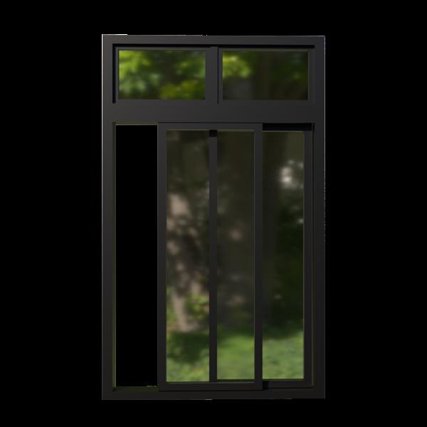 Cửa sổ mở trượt hệ BWD-94