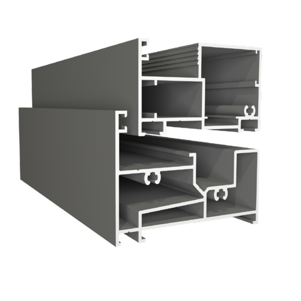 Cửa sổ 3 cánh mở xếp trượt - Hệ HP63