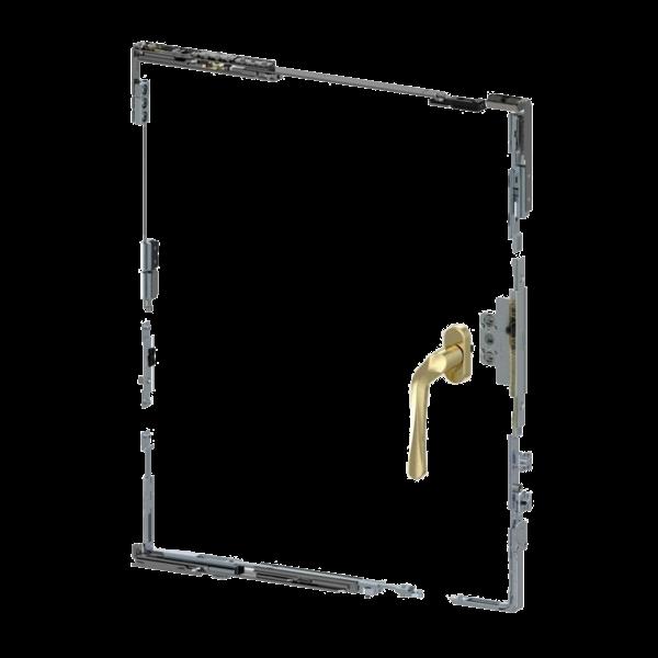 Bộ phụ kiện mở quay hất kiểu ẩn CTA81.20.38LR